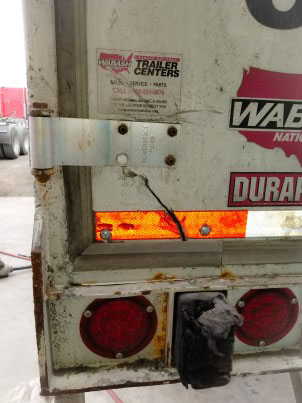 Dry Van Repair Door Repair In Edinburg by US 281 Truck And Trailer Services LLC