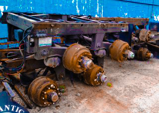 Used Parts available in Edinburg at the US 281 Truck And Trailer Services LLC Workshop