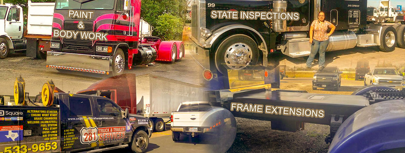 The US 281 Truck And Trailer Services LLC List Of Services